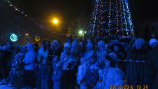 Открытие Новогодней Ёлки - 2017 в Абазе.